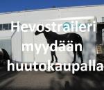 Hevostraileri, hevosenkuljetusperävaunu MP-500H, Lohja