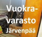Pienvarasto, vuokravarasto, minivarasto,  n.  7 m² (696)jär