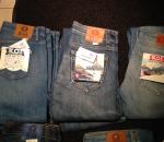 Naisten uusia farkut, 49 paria, Organic cotton