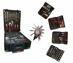 Työkalulaukku, työkalusetti alumiinilaukussa Herzberg-5001, 286 osainen, 1 kpl