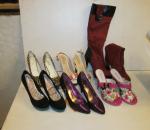 Naisten kengät ja saappaat, 6 paria