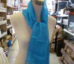 Kaulahuivi, polyester, sininen, 500 kpl