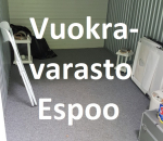 Pienvarasto, vuokravarasto, minivarasto,  n.6  m² (322)klo