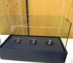 Pöytätakka, toimii polttogeelillä, esim. Sinol, ( poltogeeli ei mukana ), 3 kpl