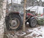 Traktori Massey Ferguson 390 WD -91