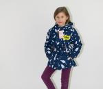 Lasten takki, sininen ja punainen. 50 kpl. Koot M, L, XL, XXL