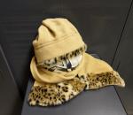 Naisten hattu ja kaulaliina setti