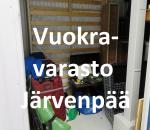 Pienvarasto, vuokravarasto, minivarasto, n. 5 m² (599)jär