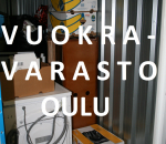 Pienvarasto, vuokravarasto 7 m2, Oulu (140)