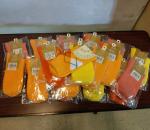 Lasten sukat, 20 paria, koko 23 - 25 cm