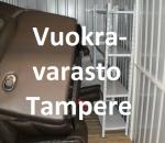 Pienvarasto, vuokravarasto, minivarasto,  n. 2 m² (030)tre