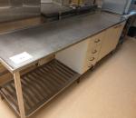 Rosteripöytä, alakaappi, alalaatikosto, 2500 x 620 x 880 (27)