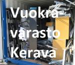 Pienvarasto, vuokravarasto, minivarasto, n. 14 m² (011)ker
