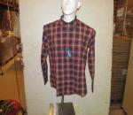 Miesten paita, raitallinen, koot M, L, XL, XXL, yht. 24 kpl, 1 ltk