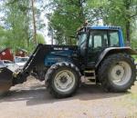 Traktori Valmet Valtra 6850 -99 / Valtra 660 etunostolaittein, Eura