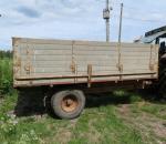 Traktorin perävaunu, iäkäs