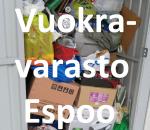 Pienvarasto, vuokravarasto, minivarasto,  n. 2,5 m² (123)laa