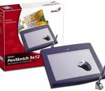Genius PenSketch 9x12 piirustusalusta