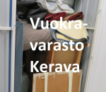 Pienvarasto, vuokravarasto, minivarasto,  n. 4 m² (356)ker