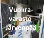 Pienvarasto, vuokravarasto, minivarasto,  n. 6 m² (671)jär