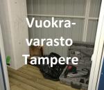 Pienvarasto, vuokravarasto, minivarasto,  n. 1,5 m² (141)tre