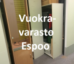 Pienvarasto, vuokravarasto, minivarasto, n. 9 m² (236)klo