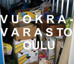 Pienvarasto, vuokravarasto 4 m2, Oulu (386)