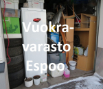 Pienvarasto, vuokravarasto, minivarasto, n. 19 m² (112)klo