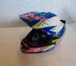 Kypärä MT Helmets Crazy MX-2, koko M (51-52), käyttämätön