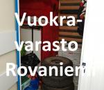 Pienvarasto, vuokravarasto, minivarasto, n. 4 m² : 851rov