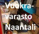 Vuokravarasto, minivarasto, pienvarasto, n. 4 m² : 078naa