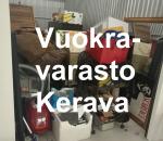 Pienvarasto, vuokravarasto, minivarasto, n. 10 m² : 699ker