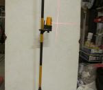 Laser jalusta / jalka, 1-jalkainen teleskooppi tyyppinen, uusi