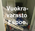 Pienvarasto, vuokravarasto, minivarasto, n. 3 m² : 214klo