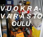 Pienvarasto, vuokravarasto  4 m2, (074) Oulu