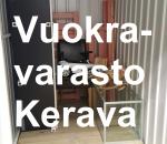 Pienvarasto, vuokravarasto, minivarasto, n. 4 m² : 368ker