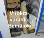 Pienvarasto, vuokravarasto, minivarasto, n. 2,5 m² : 857sei