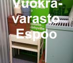 Pienvarasto, vuokravarasto, minivarasto, n. 3 m² : 243klo