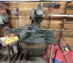 Pyörösaha MEP TC100L ja 5 kpl teriä, käytetty, toimiva