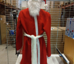 Joulupukin asu, vähän käytetty, ei housuja, koko XL/XXL