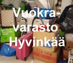 Pienvarasto, vuokravarasto, minivarasto, n. 10 m² : 001hyv