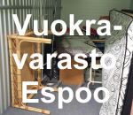 Pienvarasto, vuokravarasto, minivarasto, n. 3 m² : 261klob