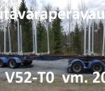 Puutavaraperävaunu Jyki V52-T0  -15