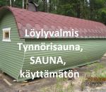 Sauna, tynnörisauna, uusi/käyttämätön