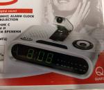 Kelloradio, herätyksellä ja heiastavalla kelloajalla, 5 kpl