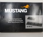 Lämmönjakopelti 12 kpl, teleskooppi, Mustang. Pituus 32 - 60 cm, leveys 22 cm. Emaloitu. Pelti 1 mm.