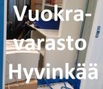 Pienvarasto, vuokravarasto, minivarasto, n. 2 m² : 076hyvc