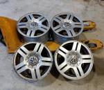 VW alkuperäiset alumiinivanteet, 15