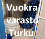 Pienvarasto, vuokravarasto, minivarasto, n. 5 m² : 075tkum