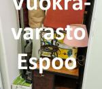 Pienvarasto, vuokravarasto, minivarasto, n. 3 m² : 332klob